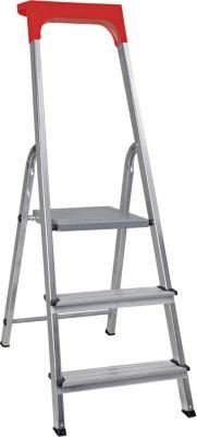 BRB Alu-Stufenleiter, 3 Stufen
