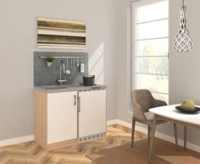 Respekta Miniküche MK100ESW 100 cm weiß - Kochmulde | Küche und Esszimmer > Küchen > Miniküchen | Respekta kitchen economy