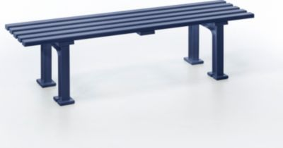 Blome  2-er Sitzbank Mono I, blau