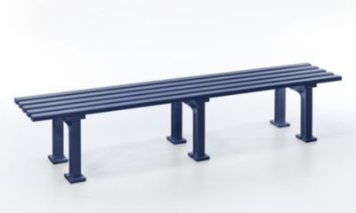 Blome  3-er Sitzbank Mono II, blau