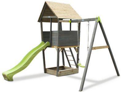 Aksent Spielturm mit Einzelschaukel