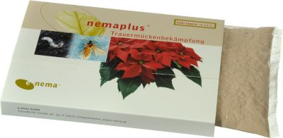 e nema Nemaplus Nematoden gegen Trauermücken, 50 Millionen für 100 m²