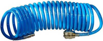 41400 Druckluft-Spiralschlauch 5 m SB