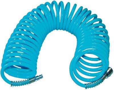 41401 Druckluft-Spiralschlauch 10 m SB