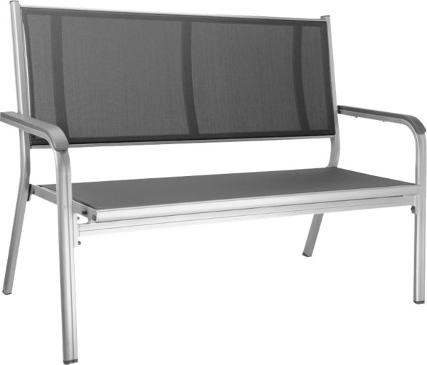 kettler gartenbank basic plus parkbank 2er bank. Black Bedroom Furniture Sets. Home Design Ideas