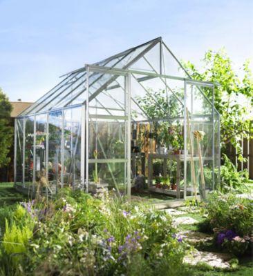 Halls Magnum 108 8,3 m² Gewächshaus mit 3 mm Sicherheitsglas | Garten > Gewächshäuser | Halls