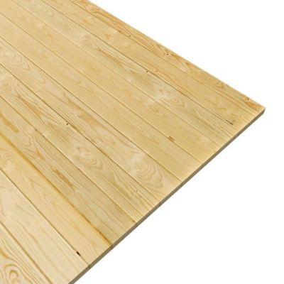 Woodfeeling Fußboden für Sockelmaß 370 cm x 340 cm | Garten > Bodenbeläge-Garten | Naturbelassen | Woodfeeling