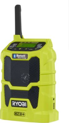 Ryobi R18R-0, Baustellenradio
