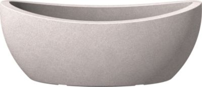 scheurich kunststoff outdoor pflanzgef wave globe jard taupe granit baumarkt xxl. Black Bedroom Furniture Sets. Home Design Ideas