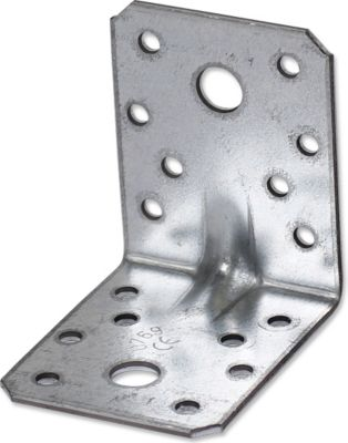 Gaardi  Schwerlast Winkelverbinder mit Sicke, 25 Stck., 70x70x55mm