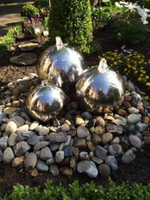 Dura Garden Dura-Garden ES 800215 Edelstahlbrunnenkugel 48 cm, poliert