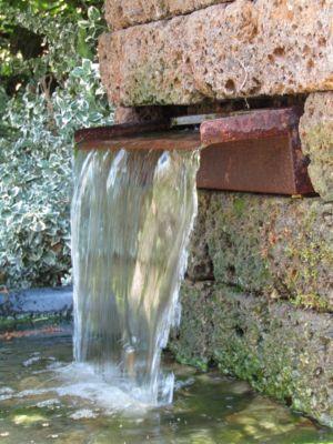 Dura Garden  CS 060115 Corten-Wasserfall 60 x 6 x 14,5 cm
