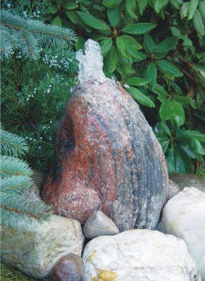 Gletscher Quellstein Komplettset, 30-40 cm
