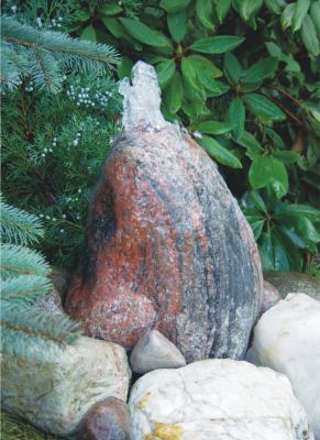 Dura Garden Dura-Garden Gletscher Quellstein Komplettset, 30-40 cm