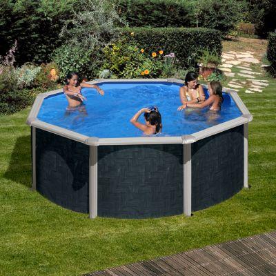 Gre  Barbados Dream Pool rund Ø 350 x 120 cm Stahlwandbecken-Set