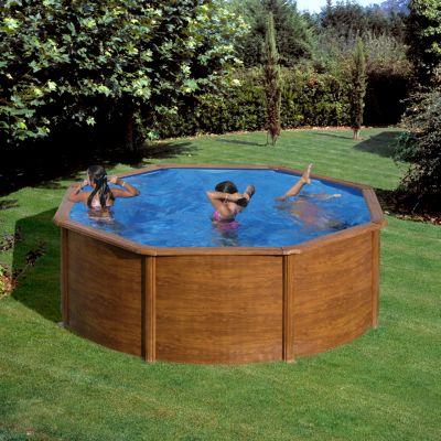 Gre  Galapagos Dream Pool rund Ø 350 x 120 cm Stahlwandbecken-Set