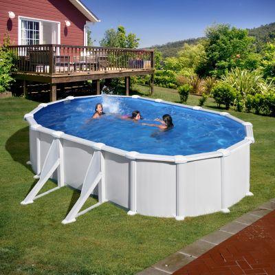 Gre  Atlantis Dream Pool oval 610 x 375 x 132 cm Stahlwandbecken-Set