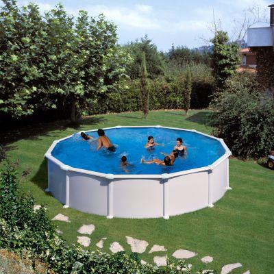 Gre  Atlantis Dream Pool rund Ø 550 x 132 cm Stahlwandbecken-Set