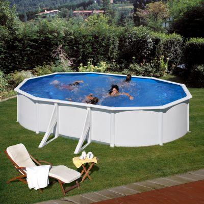 Gre  Bali Dream Pool oval 610 x 375 x 120 cm Stahlwandbecken-Set