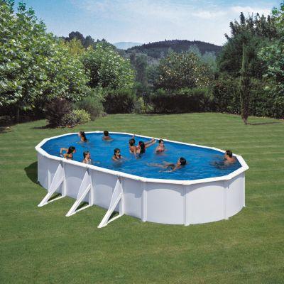 Gre  Bali Dream Pool oval 730 x 375 x 120 cm Stahlwandbecken-Set