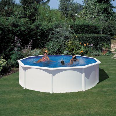 Gre  Bali Dream Pool rund Ø 460 x 120 cm Stahlwandbecken-Set