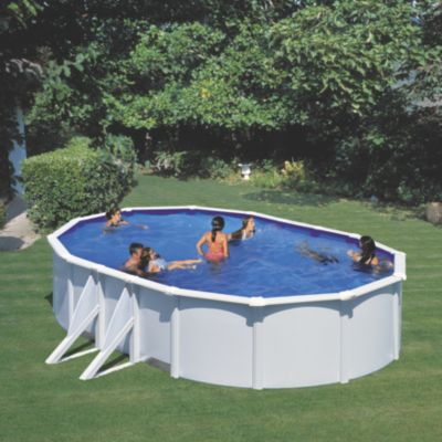 stahlwand pool oval 120 preisvergleich die besten. Black Bedroom Furniture Sets. Home Design Ideas