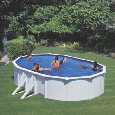 Gre  Bora Bora Dream Pool oval 610 x 375 x 120 cm Stahlwandbecken-Set