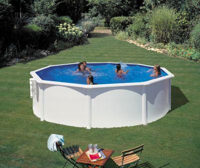Gre  Bora Bora Dream Pool rund Ø 350 x 120 cm Stahlwandbecken-Set