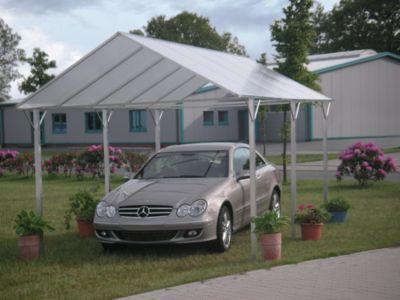 KGT  Weser Carport, weiß