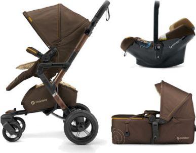 CONCORD Kinderwagen Neo Mobility-Set Walnut Brown