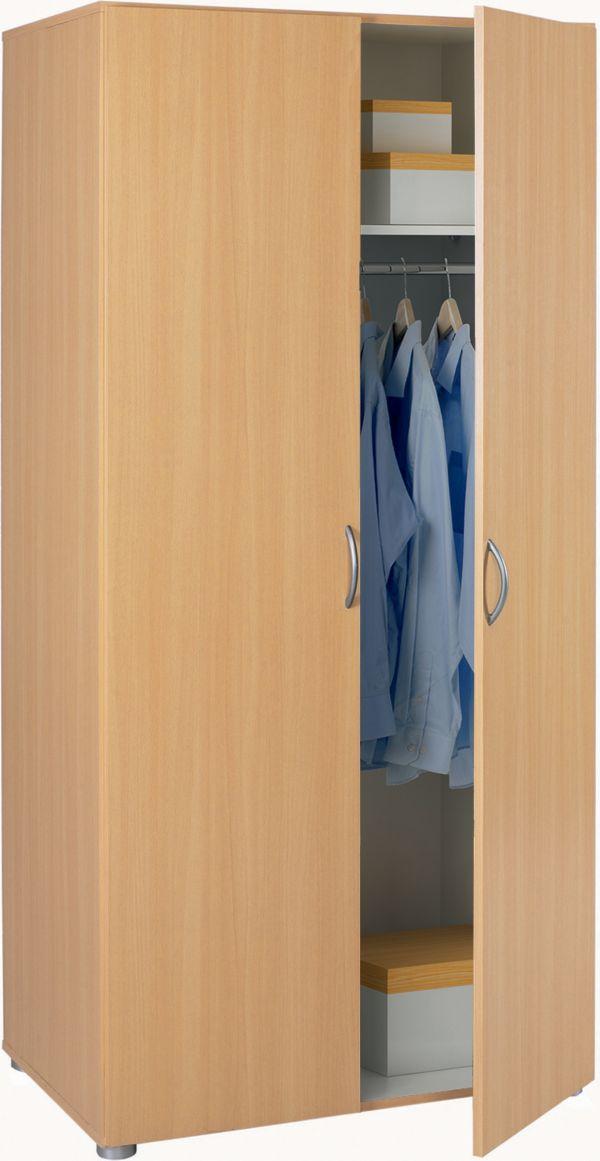 kleiderschrank zip dreht renschrank schrank haushaltsschrank aufbewahrung ebay. Black Bedroom Furniture Sets. Home Design Ideas