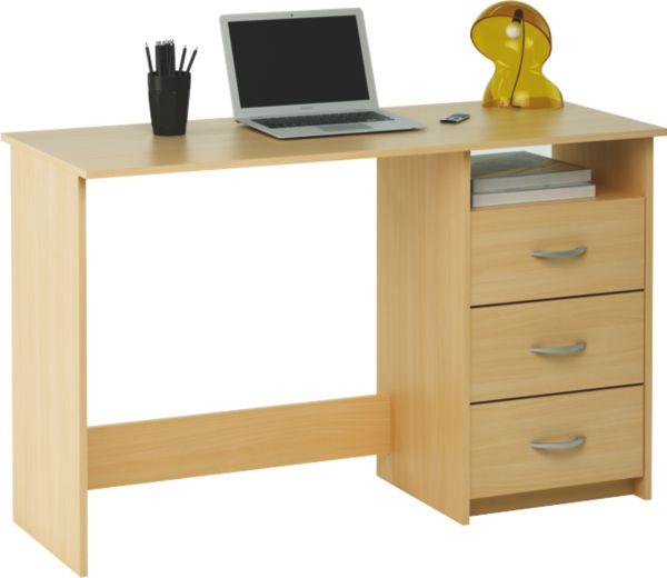 schreibtisch aristote b ro tisch pc 3 schubk sten. Black Bedroom Furniture Sets. Home Design Ideas