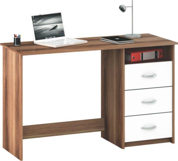 schreibtisch aristote b ro tisch pc 3 schubk sten viele farben ebay. Black Bedroom Furniture Sets. Home Design Ideas