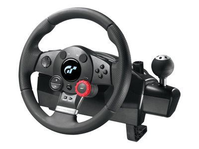 Logitech Driving Force GT - Lenkrad- und Pedale...
