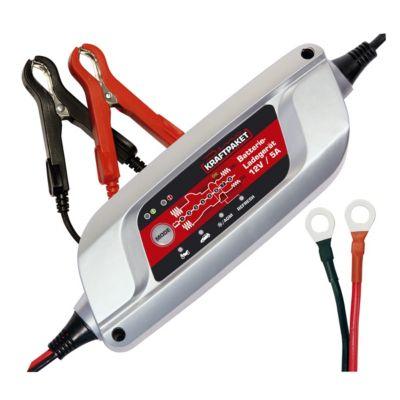 Dino  136300 Kraftpaket 12V 5A Batterieladegerät 8-Stufen