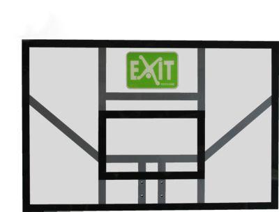 Exit  Basketball-Korb Galaxy Board Polycarbonate