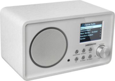 Wireless LAN Internet-Radio MEDION® LIFE® E85052 (MD 87267) weiß