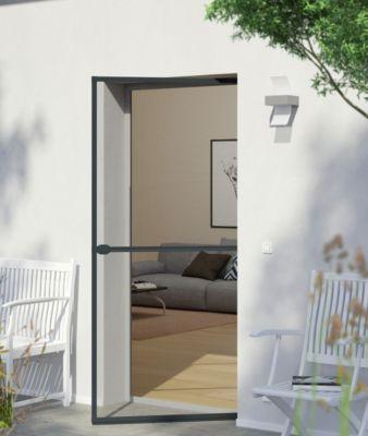 IS Plus Rahmen Tür 100 x 210 cm, anthrazit
