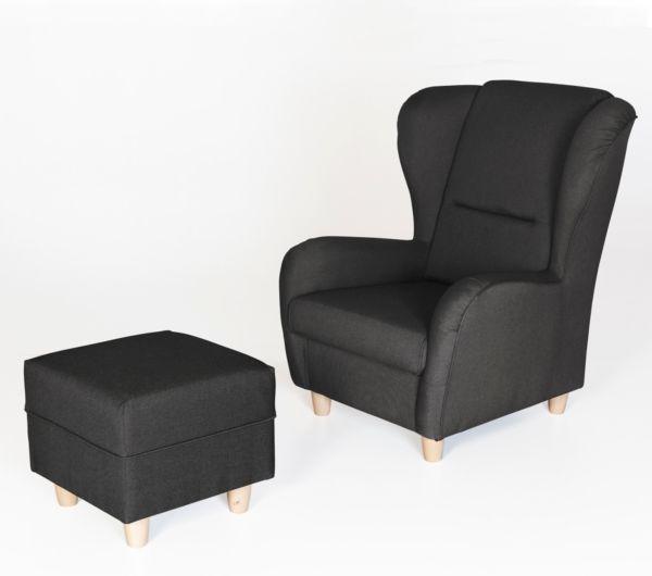 ohrensessel sessel ohrenbackensessel polstersessel. Black Bedroom Furniture Sets. Home Design Ideas