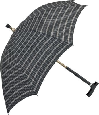 Weinberger Schirm mit Gehstock 2 in 1