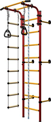 christopeit-hercules-1w-indoor-spiel-und-klettergerust-mit-wandmontage-in-rot-gelb-eg-ksk-001r