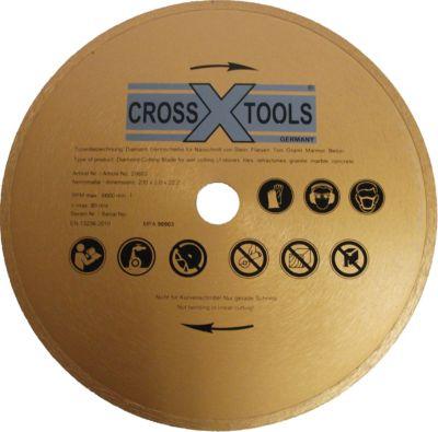 Crosstools Cross Tools Diamantscheibe 230 mm x 2 mm x 22,23 mm