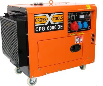 Cross Tools CPG 6000 DE Diesel Stromerzeuger mit E-Start (inkl. Batterie)