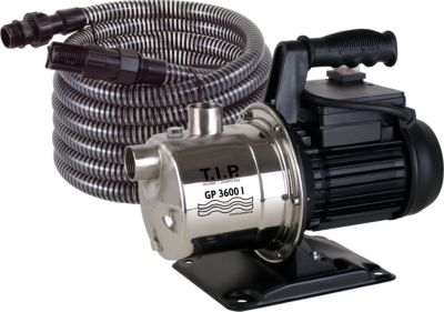 GP 3600 INOX mit Kit 7m Gartenpumpe