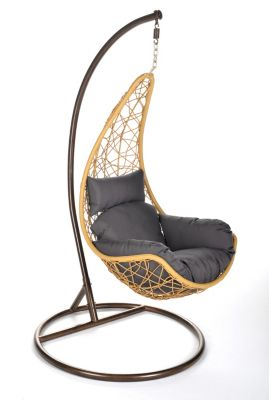 Home Deluxe  Curl Polyrattan Hängesessel