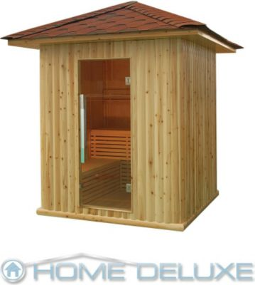 Java Outdoor-Sauna