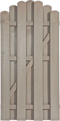 Dimplex -Prestige Zauntor 90 x 180/160 cm für Dichtzaun Kevin