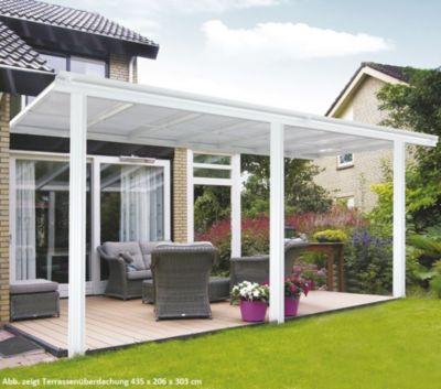 Home Deluxe  8399 Terrassenüberdachung, 557 x 206 x 303 cm