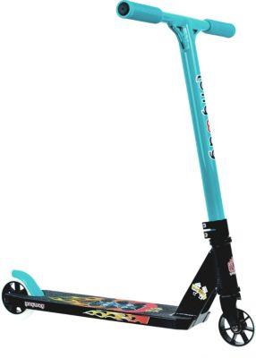 "Longway  Stunt Scooter ""Born to ride"" grün"