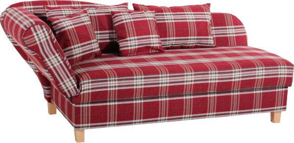 max winzer recamiere sarah rot sofa sessel polsterm bel. Black Bedroom Furniture Sets. Home Design Ideas